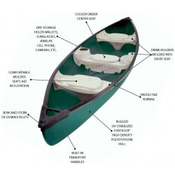 "15' 5"" Square Stern Canoe"