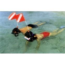 Snorkel Safety Flag