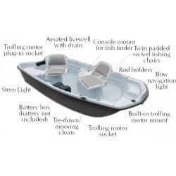 "10' 2"" Basstender Fishing Boat"