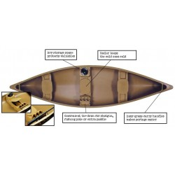 Camouflage 14' Canoe