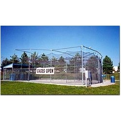 Radial Batting Cage